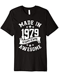 Made in 1979 40 years of being awesome t shirt