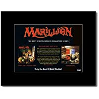 MARILLION - Script For A Jesters Tear/Seasons End Matted Mini Poster - 21x13.5cm