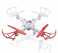 AKASO X5C 4-Channel 2.4-GHz 6-Axis Gyro Headless 360-Degree 3D Rolling Mode RC Drone Quadcopter with HD Camera, Micro SD Card and Blades Propellers from AKASO