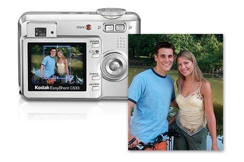 Kodak EasyShare C533 Digitalkamera (5 Megapixel)