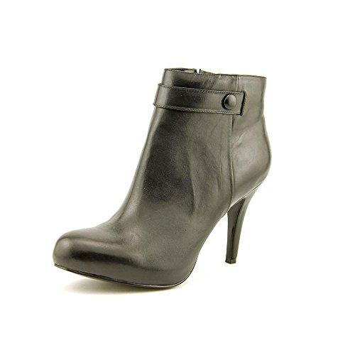 Nine West Go With It O Damen Rund Leder Mode-Stiefeletten Black