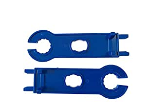 Flin Energy MC4 Solar Panel Connector Disconnect Wrench Cutting Spanner Tool, 2-Pieces