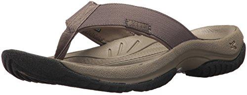 Preisvergleich Produktbild KEEN Men's Kona Flip-M Flat Sandal, Bungee Cord/Raven, 8 M US