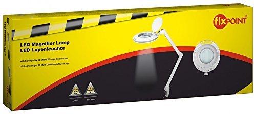 Fixpoint LED Klemm-Lupenleuchte