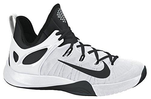 Nike Zoom Hyperrev 2015 Herren Baseballschuhe weiß / schwarz