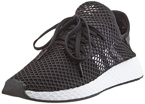 adidas Herren Originals Deerupt Runner BD7890 Fitnessschuhe, Schwarz (Negbás/Ftwbla/Negbás 000), 44 EU