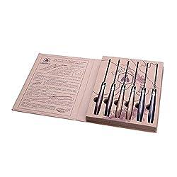 Laguiole 40268645 Steakmesser, Edelstahl, Braun, 5.5x5x2.5 cm