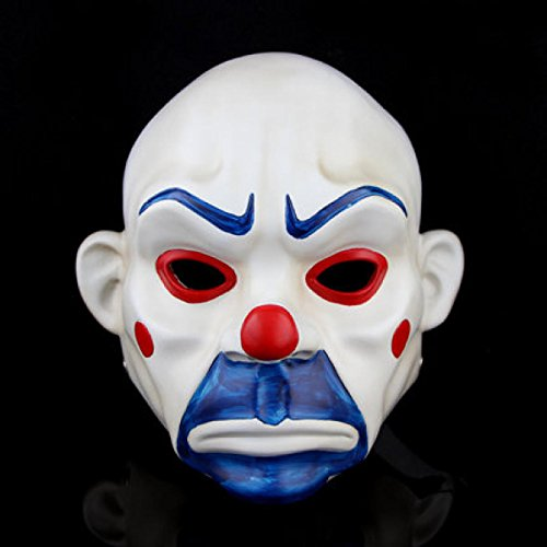 Halloween Horror Cos Batman Dark Knight Stützen Clown Bandit (Knight Clown Dark Maske)