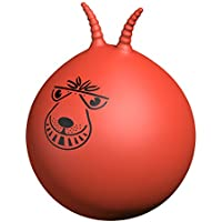 "Retro Space Hopper New Adults Kids Large 24"" Sit On Outdoor Toy & Foot Pump"
