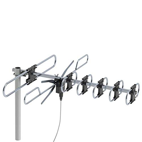 YouN Leadzm TA-M2 Frequency 174-230MHz/470-860MHz 10m 3C2V Double-Head Antenna