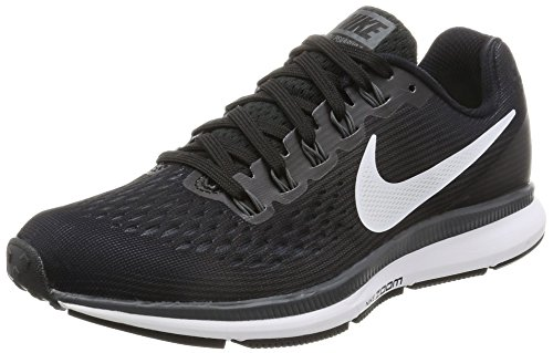 Nike Damen Wmns Air Zoom Pegasus 34 Laufschuhe, Schwarz (Black/White-Dk Grey-Anthracite), 38 EU