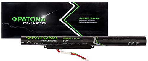PATONA Premium - Ersatz für Laptop Akku Lenovo (2600mAh) - Ideapad Z400 Z410 Z500 Z505 Z510 P500 Touch -