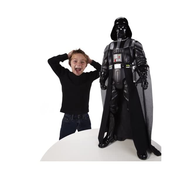 Jakks Pacific 58712 - Figura de Darth Vader de Star Wars (78,7 cm) - Figura Star Wars Darth Vader (80 cm) 6