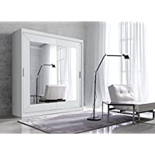 Schlafzimmerschrank schiebetür spiegel  Suchergebnis auf Amazon.de für: kleiderschrank schiebetür spiegel