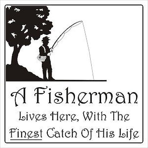 Smarts-Art-pescatore con scritta