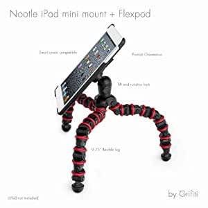 Grifiti Nootle Trépied flexible livré avec support de fixation pour iPad Mini