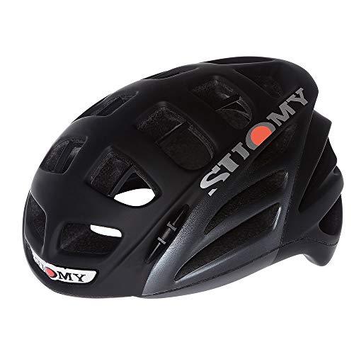Suomy Casco bici strada Gun Wind Elegance nero / antracite opaco taglia M (Caschi MTB e Strada) / Road racing helmet Gun Wind Elegance black / anthracite matt size M ( Mtb and Road Helmet)