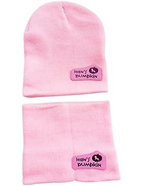 mumu' S Set di 2pezzi sciarpa + cappello/berretto/Calotta/Cappello per la calore in inverno di bambino Gar...