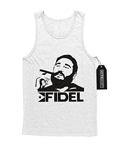 """Tank-Top Fidel Castro Fidel Castro """"Cigar"""" D950010 Weiß"""