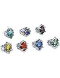 CoolChange Set de los anillos auténticos Vongola de Katekyo Hitman Reborn!!
