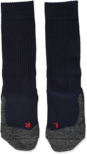 FALKE Unisex - Kinder Socken 10450 Active Warm SO, Gr. 27/ 30 Blau (marine 6120)