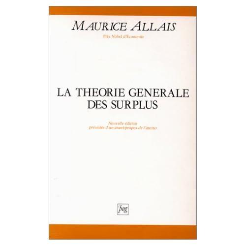 La théorie générale des surplus