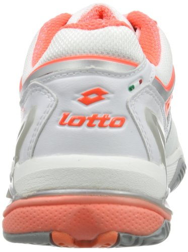 Lotto - Raptor Ultra Iv Clay W, Scarpe da tennis Donna Bianco (Weiß (WHT/FL CARR))
