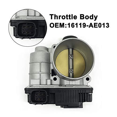 enantrieb für 2002-2006 Altima 2.5L 60mm Kraftstoffeinspritzung Drosselklappenantrieb 16119AE013 GEGT7610-102 SERA576-01 16119-AE013 ETB0003 ()
