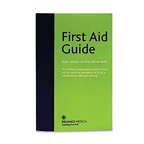 Reliance Medical First Aid English Guidance Leaflet - Pack of 50