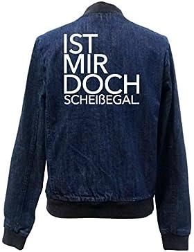 Ist Mir Doch Scheißegal Bomber Chaqueta Girls Jeans Certified Freak