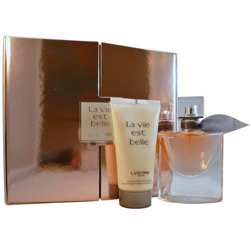 Lancome La vie est Belle Geschenkset femme / woman, Eau de Parfum Vaporisateur / Spray 30 ml, Bodylotion 50 ml, 1er Pack (1 x 80 ml)