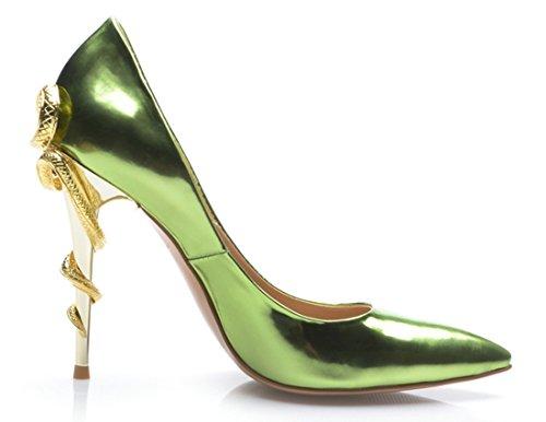 TDA - Sandali con Zeppa donna Green