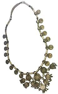 Mehrunnisa Vintage Lambadi Banjara Coin Necklace For Girls