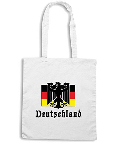 T-Shirtshock - Borsa Shopping TSTEM0024 deutschland (3) Bianco