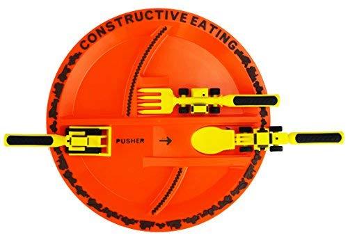 Constructive Eating - 3-Teile Besteck und Teller Set