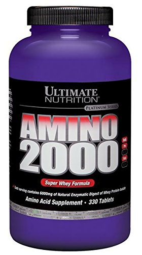 Ultimate Nutrition Super Whey Amino 2000 (330 Tablets) Standard, 990 g
