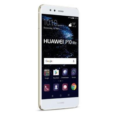 "Huawei P10 Lite - Smartphone libre de (5.2"", 4G, 32 GB, 4 GB de RAM, 12 MP / 8 MP, Android 7), color Blanco"