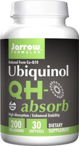 Jarrow Formulas, QH-absorbieren, Ubiquinol, 200 mg, 30 Kapseln