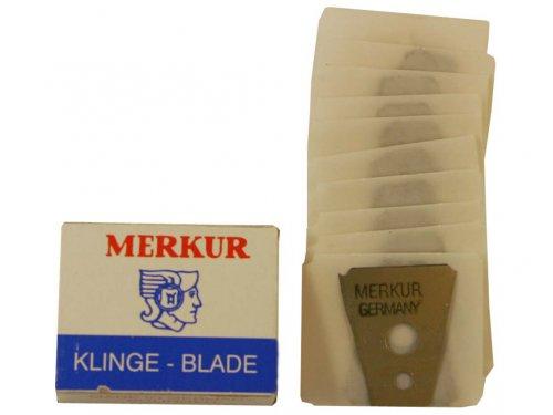 DOVO MERKUR Solingen Augenbrauen- & Schnurrbart-Rasierklingen