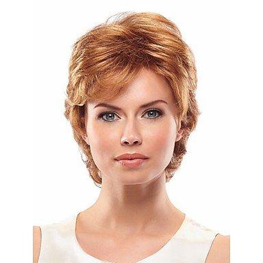 HJL-elegante onda corta capelli sintetici parrucche estensioni