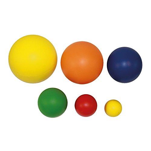 PU-Softball 16 cm Durchmesser Farbe: rot