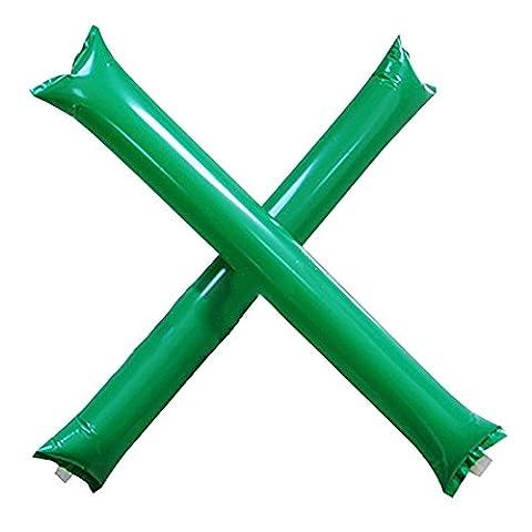 HuaYang Inflatable Thunder Stick Bang Cheer Boom Noise Maker Basketball Football Clapper - Green