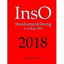 InsO, Insolvenzordnung, Aktuelle Gesetze