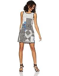 global desi Women's Shift Knee-Long Dress