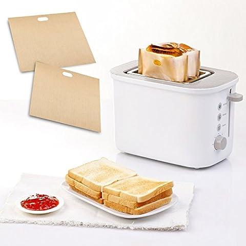 Borse Epyen (TM0 tostapane per panini al formaggio alla griglia Made Easy (2 parti), riutilizzabile, antiaderente