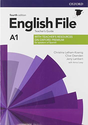 English File 4th Edition A1. Teacher's Guide + Teacher's Resource Pack (English File Fourth Edition)