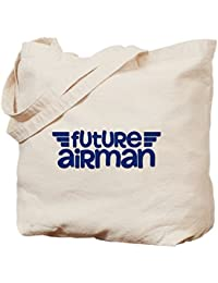 CafePress U.S. Air Force Future Airman Bolsa, lona, caqui, Medium