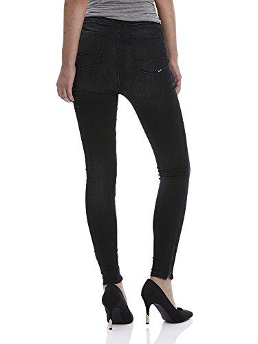 Bench Damen Jeanshose Cylinder V1 Schwarz (Dark Worn - Black WA018BK)