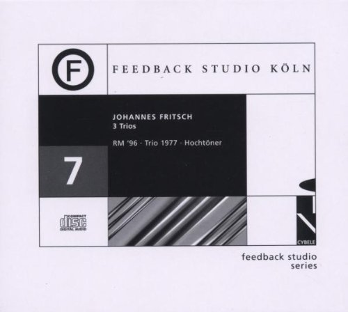 Feedback Studio Koln Series by Johannes Fritsch (2013-05-03) -