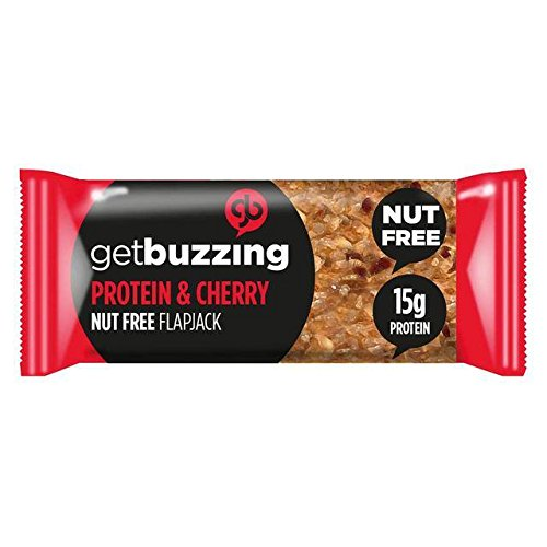 62g Protein (Getbuzzing Nut Free Cherry Protein Bar 62g)
